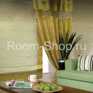 Римская штора и портьера в интерьере-2